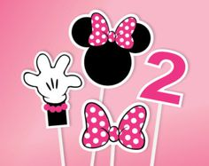 Instant download Minnie Mouse Party Package Minnie Mouse
