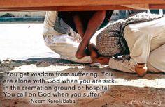 Sri Neem Karoli Baba-wisdom about God. Foot Quotes, Neem Karoli Baba, Spiritual Figures, Graphic Design Quotes, Ram Dass, Nainital, Spiritual Teachers, Hanuman, Super Powers