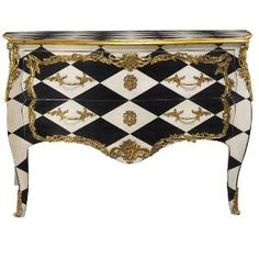 Harlequin- I say every home should have One piece of painted furniture!