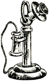 Image Result For Engraving Of Old Fashioned Telephone