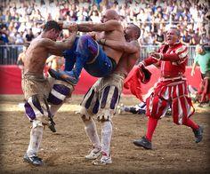 Finale Calcio Storico Fiorentino 2012 Azzurri Vs. Bianchi. | Flickr - Photo Sharing!