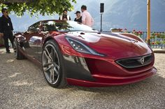 The Rimac One is an electric supercar from Croatia