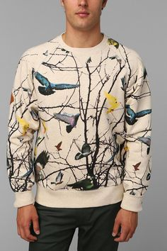 I hope I get Mike in secret santa this year. @Tina Doshi Lipski Staple Edgar Loopback Sweatshirt  #urbanoutfitters
