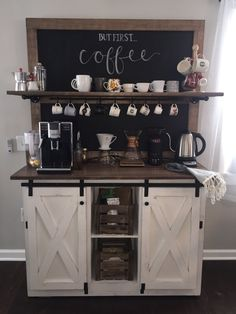 Weston pizarra café bar buffet-envío gratis – Home coffee stations Kitchen Bar, Bar Furniture, Kitchen Decor, Coffee Bars In Kitchen, Home Decor, Stand Alone Kitchen Pantry, Bars For Home, Home Coffee Stations, Kitchen Pantry Design