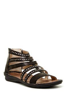 Zena Studded Gladiator Sandal by Khrio on @nordstrom_rack