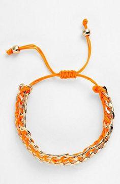 Stylish friendship bracelet.