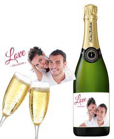 Du champagne personnalisé pour pétiller de bonheur avec votre moitié lors de la Saint-Valentin !   http://www/monvinpersonnalise.fr