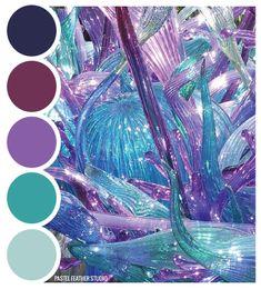 Pastel Feather Studio:   GLASS SHEME - color palette     ?more find here: pastefeatherstudio.blogspot.com