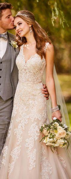 Stella York Wedding Dresses / http://www.deerpearlflowers.com/stella-york-wedding-dresses/ ❤️ #lacedress #weddingdress #bridaldress