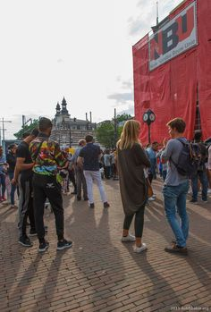 Rotterdam, 24 juli 2015 Rotterdam, Taking Pictures, Times Square, Street View