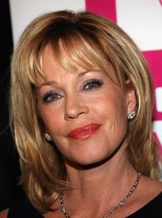 haircuts for women in their 50's | Melanie Griffith HOLLYWOOD- OCTOBER 14: Actress Melanie Griffith ...