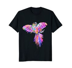 Colorful Rainbow Psychedelic Parrot Bird Jungle Shirt Sta... https://www.amazon.com/dp/B079YT5RBQ/ref=cm_sw_r_pi_dp_U_x_ZDLJAb34JWEQX