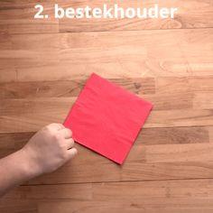 3 toffe manieren om servetten te plooien voor je kersttafel   Radio 2, de grootste familie Om