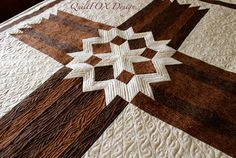 Carpenters' Star Christian Cross 42 x 57 by QuiltPatterns on Etsy