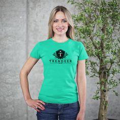 TRENDEER SHORT SLEEVE WOMEN'S T
