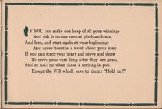 If you think you're mature, measure yourself against 'If' by Rudyard Kipling, then think again. :]