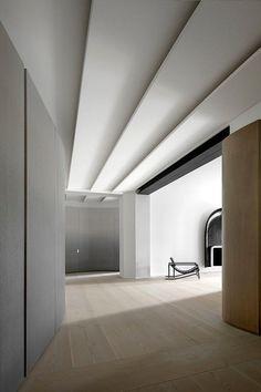 Dit appartement in Parijs bestaat uit ronde vormen en strakke lijnen - Roomed