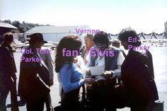 Elvis  Fans Ed Parker Col Tom Vernon Seattle Wa... - Elvis never left