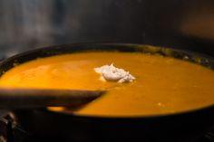 La soupe pour halloween ! Velouté épicé de butternut