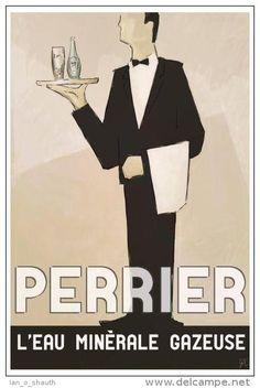 Perrier l´eau minérale gazeuse