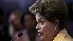 Presidente Dilma Rousseff durante evento em Brasília - REUTERS/Ueslei Marcelino