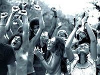 """""""Hippies in the 60's""""- The 60's gave birth to the hippies who did not believe in such a trivial and materialistic lifestyle as previous generations. They also took part in a budding drug culture with LSD and marijuana being used sparingly by the young people who were also expressing their non-conformity through fashion."""