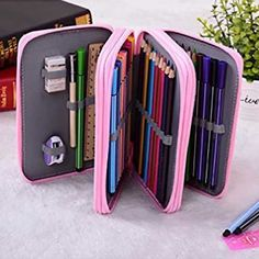 Multilayered Pencil Case