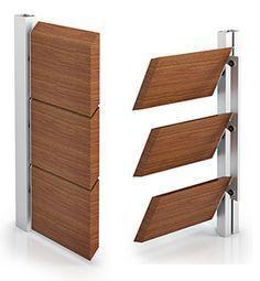 modelos brise soleil madera lamas orientables