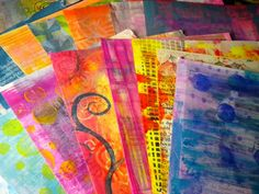 Make some OOAK Hand-Painted Pages for your journals and mixed media art using handmade stamps and other printing techniques Inked Magazine, Magazine Art, Art Journal Pages, Junk Journal, Art Journals, Art Background, Textured Background, Art Journal Inspiration, Journal Ideas