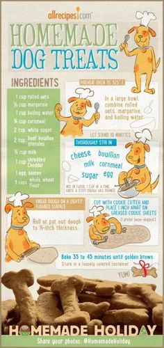 Always love homemade dog treats. by TamidP
