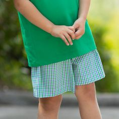The Boys Nantucket Plaid Shorts in blue and green gingham are a classic style for boys. Elastic waist for ease of wear. Team Gifts, Whale Watching, Plaid Shorts, Nantucket, Gingham, Classic Style, Boy Or Girl, Elastic Waist, Boys