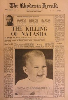 The Killing of Natasha - Rhodesia Herald 4th Oct 1977