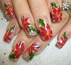 Merry Christmas Nail Art Designs (7)