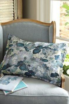 Soft Surroundings Hydrangea Garden Sham #LuxuryBeddingSoftSurroundings