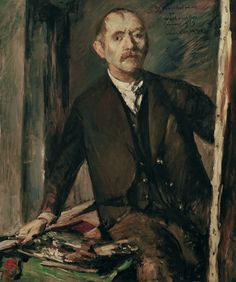 Self-Portrait at the Easel, Lovis Corinth 1919 Figure Painting, Painting & Drawing, Selfies, Tate Gallery, Portraits, Art Database, Art Themes, Museum Of Fine Arts, Artist At Work