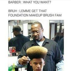 He looks like my foundation brush! Haha