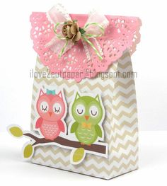 i love 2 cut paper: Decorated Paper Bag - Pazzles March Challenge