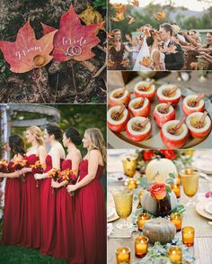 Get Inspired...Let's Fall in Love wedding inspiration board from Lucky in Love Wedding Planning Blog