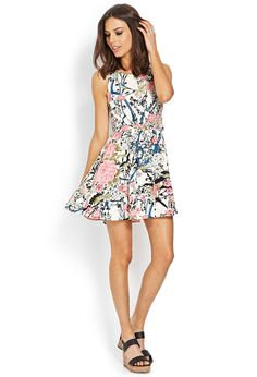 Woodland Whimsy Cutout Dress   FOREVER21 #F21Contemporary #Cutouts #MustHave #OOTD