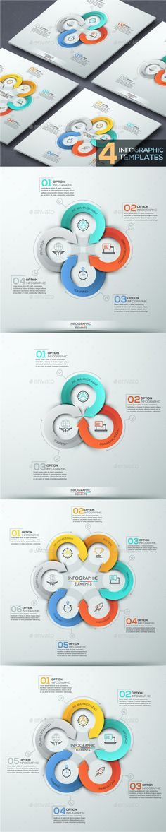 Modern Infographic Arrows Template (4 Items) - Infographics Download here : https://graphicriver.net/item/modern-infographic-arrows-template-4-items/18321702?s_rank=482&ref=Al-fatih