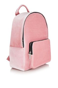 aaca4141cd Pink Velvet Charlie Backpack by Skinnydip. Carousel Image 0