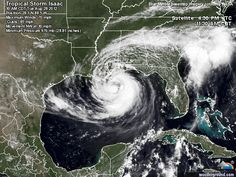 Tropical Storm Isaac : Storm-Centered Satellite Image | Weather Underground