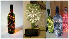 decoradas com luzinhas
