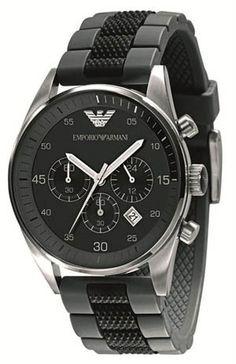 Emporio Armani Herren Armband Chronograph Uhr AR5866