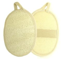 Want This: Kiloline Exfoliating Loofah Pads 2 Pack 100 Natural Luffa and Terry Cloth Materials Loofa Sponge Scrubber Brush Close Skin For Men and Women When Bath Spa and Shower Indoor Tanning Lotion, Tanning Bed, Body Scrubber, Natural Loofah, Exfoliating Gloves, Prevent Ingrown Hairs, Body Brushing, Nice Body, Material
