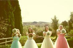 gif 900 Outdoor Weddings, Real Weddings, Girls Dresses, Flower Girl Dresses, Bridesmaid Dresses, Wedding Dresses, Fashion, Dresses Of Girls, Bridesmade Dresses