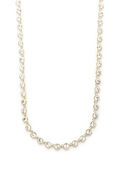 ideeli | GIVENCHY 36 Crystal Strand Necklace