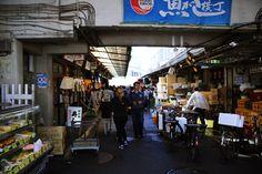 築地市場 場内 魚がし横丁 Tokyo, Street View, Spaces, Tokyo Japan