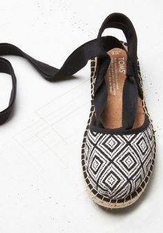 Show off your summer style in our new Bella Espadrille. Every purchase also helps someone in need.