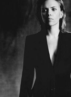 pinterest.com/fra411 #famous - Scarlett Johansson   by Paolo Roversi